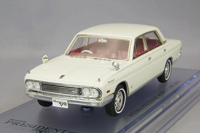 <予約 2020/12月中旬発売予定> ENIF 1/43 日産 プレジデント (H150 Y40-D) 1965年型 ホワイト