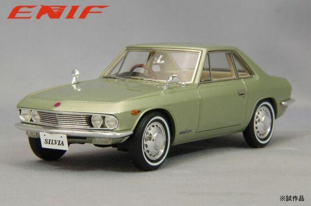 <予約 2021/12中旬月発売予定> ENIF 1/43 日産 シルビア 1965年型 シャンパンゴールド