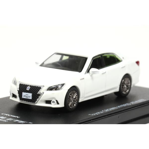 【ENIF】 1/64 トヨタ クラウン アスリート G 2013 ホワイト