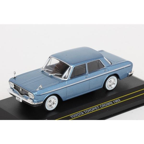 【ファースト43】 1/43 トヨタ トヨペット クラウン 1962 (ブルー)