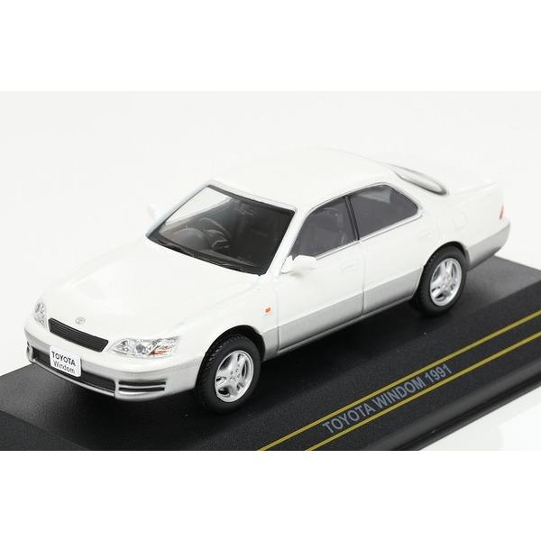 【First43】 1/43 トヨタ ウィンダム 1991 ホワイト/グレイ