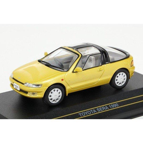 【First43】 1/43 トヨタ セラ 1990 Mライトグリーン