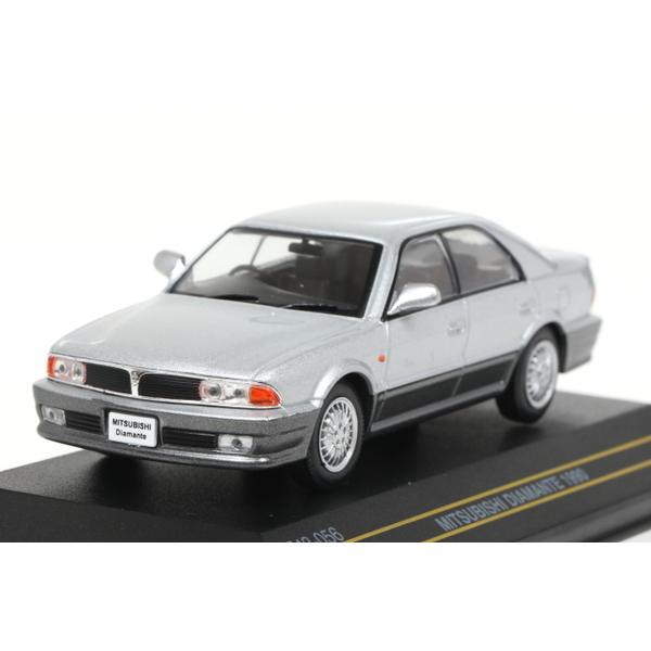 【First43】 1/43 三菱 ディアマンテ 1990 シルバー/グレイ