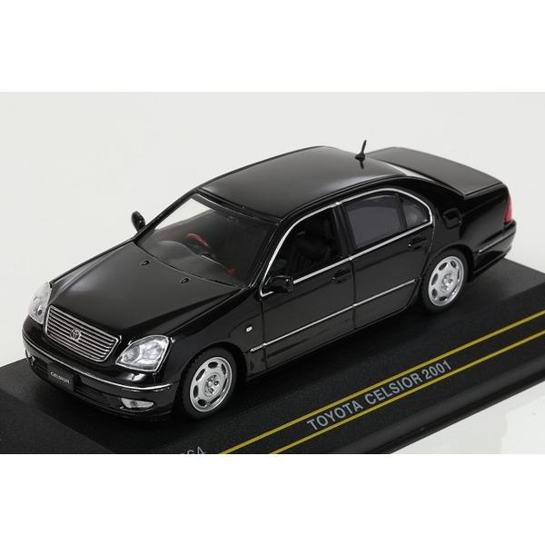 【ファースト43】 1/43 トヨタ セルシオ 2001 (ブラック)
