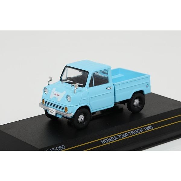 【FIRST43】 1/43 ホンダ T360 トラック 1963 ライトブルー