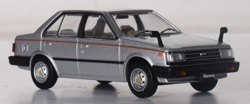First43 1/43 日産 サニー 1980 シルバー 海外仕様
