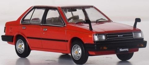 First43 1/43 日産 サニー 1980 レッド 海外仕様