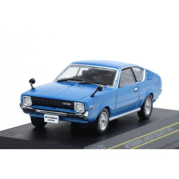 【First43】 1/43 三菱 ランサー セレステ 1975 ブルー