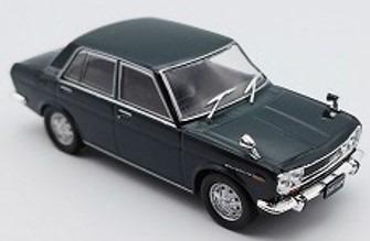 First43 1/43 ダットサン 510 セダン 1971 グリーン