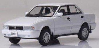 <予約 2021/12月発売予定> First43 1/43 ニッサン サニー B13 1990 クリスタル・ホワイト
