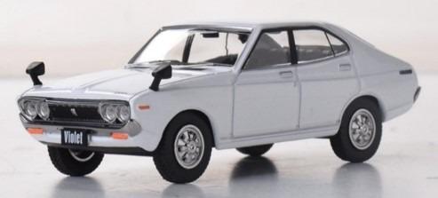 First43 1/43 日産 バイオレット 1973 ホワイト