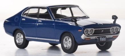 <予約 2021/3月発売予定> FIRST43 1/43 ニッサン バイオレット 1973 ブルー