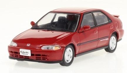 First43 1/43 Honda Civic Ferio SiR 1991 (Milano Red Pearl)