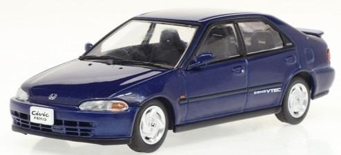 First43 1/43 Honda Civic Ferio SiR 1991 (Herverd Blue Pearl)