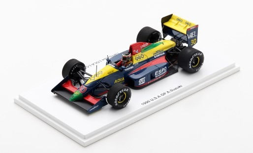Spark 1/43 ローラLC89B ランボルギーニ 1990 F1アメリカGP 鈴木亜久里 限定700台 Racing on特注