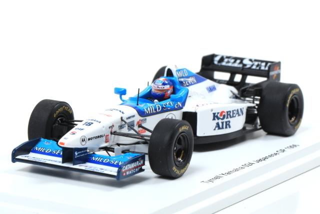 spark 1/43 Tyrrell Yamaha 024 Japanese GP 1996 片山右京 *Racing on 特注