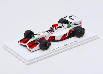Spark 1/43 フットワーク無限FA13B 1993年 南アフリカGP 鈴木亜久里   Racing on特注