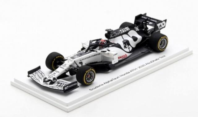 Spark 1/43 Scuderia Alpha Tauri Honda AT01 2020 Abu Dhabi Test #38 角田裕毅  (F1速報特注)