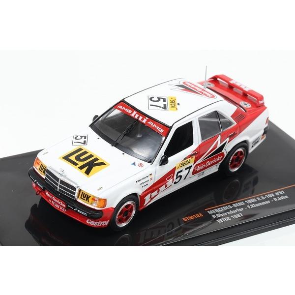 【ixo】 1/43 メルセデスベンツ 190E 2.3-16V 1987 WTCC #57