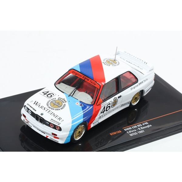 【ixo】 1/43 BMW E30 M3 No,46 WTCC 1987
