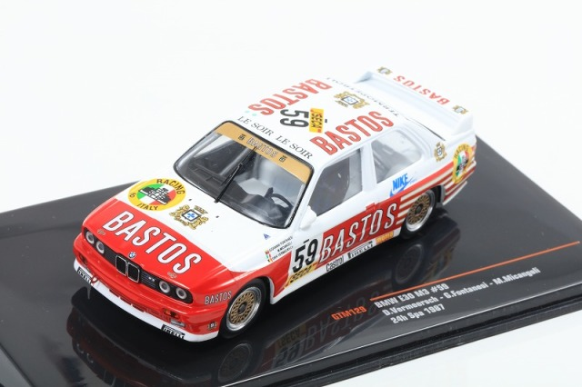 ixo 1/43 BMW E30 M3 No,59 24h Spa 1987