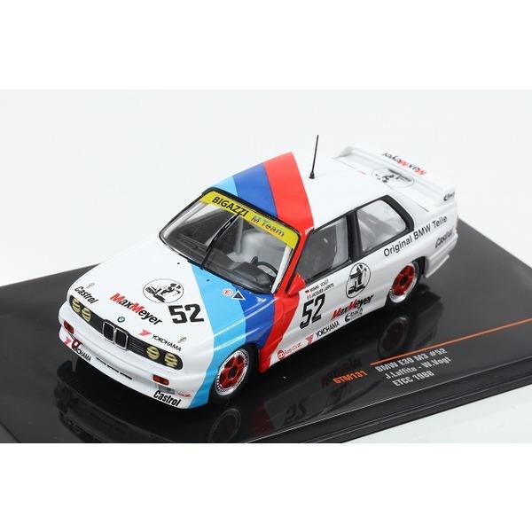 【ixo】 1/43 BMW E30 M3 1988 ETCC #52