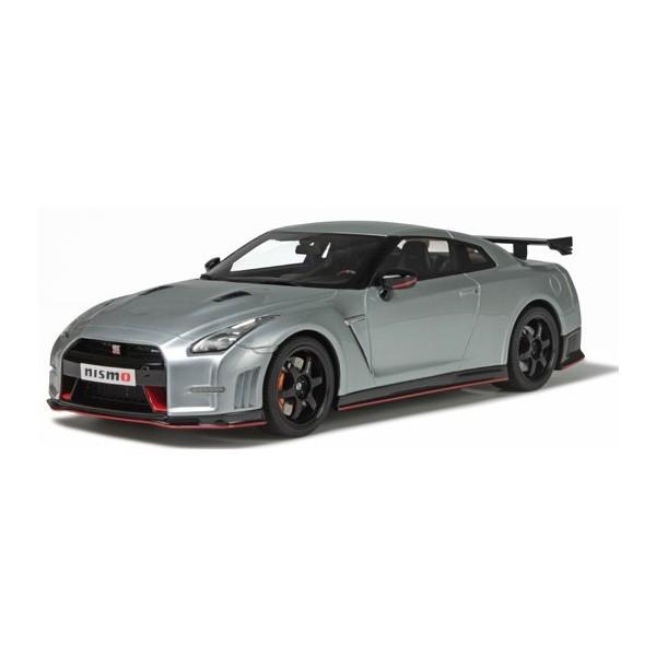 【GTスピリット】 1/18 日産 GT-R ニスモ (R35) (アルティメイトメタルシルバー) ※限定500台(日本国内250台)