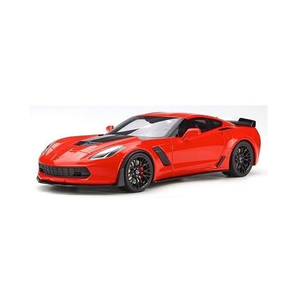 【GTスピリット】 1/18 シボレー コルベット Z06 (レッド) USエクスクルーシブモデル