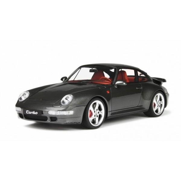 【GTスピリット】 1/18 ポルシェ 911 (993) ターボ メタリックグレー *限定1.000台