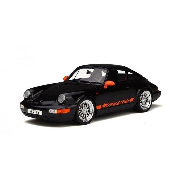 【GTスピリット】 1/18 ポルシェ 911(964) カレラ RS(ブラック/オレンジ) 世界限定:1,500個
