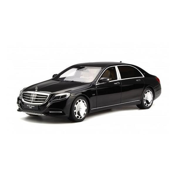 【GTスピリット】 1/18 メルセデス マイバッハ S600(ブラック)世界限定数:999個