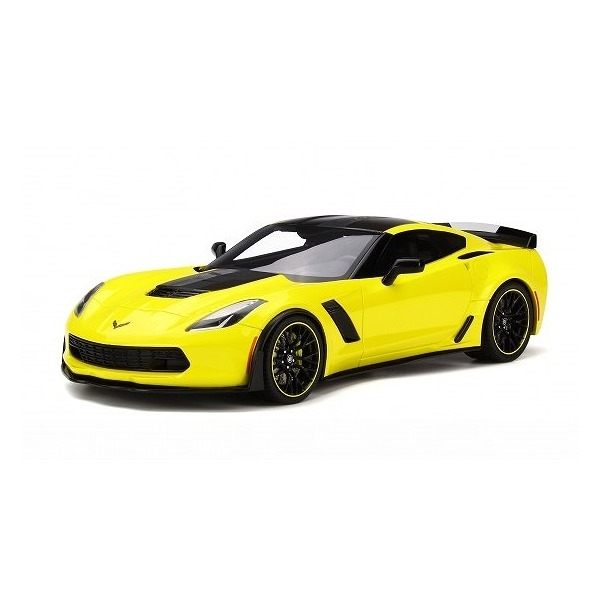 【GTスピリット】 1/18 2016 シボレー コルベット Z06-C7.R エディション (イエロー)世界限定数:999個