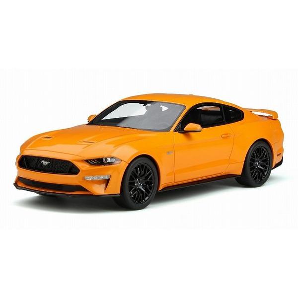 【GTスピリット】 1/18 2019 フォード マスタング GT(オレンジ) 世界限定 999個