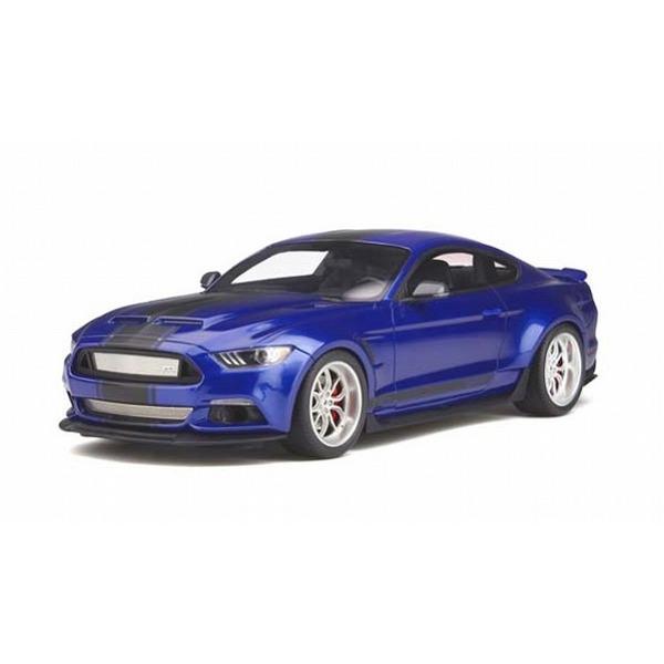 【GTスピリット】 1/18 フォード シェルビー GT350 ワイドボディ(ブルー)