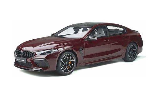 <予約> [GT SPIRIT] 1/18 BMW M8 グランクーペ (ワインレッド)