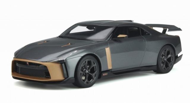 GT SPIRIT 1/18 日産 GT-R 50 by イタルデザイン (グレー)