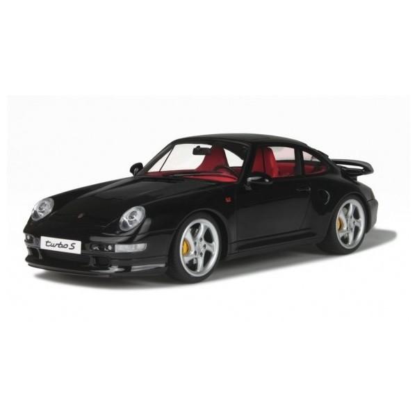 【GTスピリット】 1/18 ポルシェ 911 ターボ S (993)(ブラック) ※限定1500台