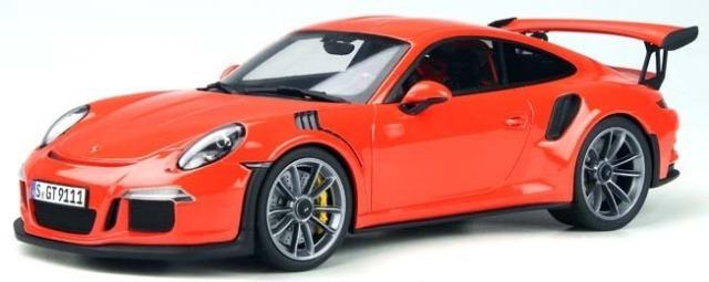 GT SPIRIT 1/18 ポルシェ 911(991.1) GT3 RS (オレンジレッド) 海外エクスクルーシブ