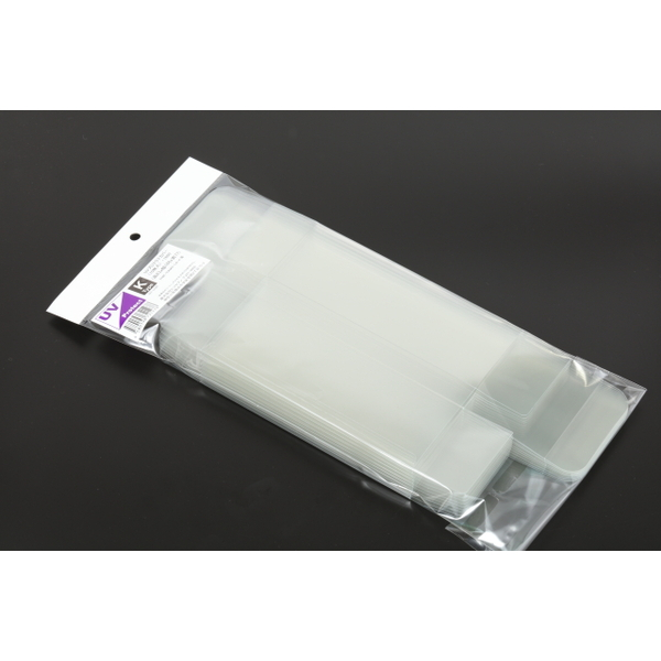 【HIKO7】 UVプロテクトカバー K Type 10枚入 (寸法:高63mm x 幅168mm x 奥77mm)
