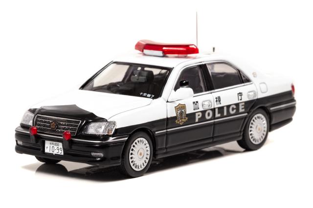 RAI'S 1/43 トヨタ クラウン (JZS175) 2007 警視庁交通部交通機動隊車両(10交7) 限定800台 *限定BOX付