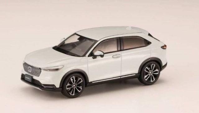 HobbyJapan 1/43 Honda VEZEL (2021) Premium Sunlight White Pearl