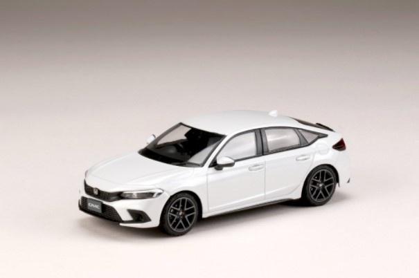 HJ43 1/43 Honda CIVIC 2021 プラチナホワイト・パール
