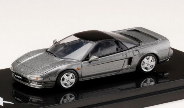 HobbyJapan 1/64 Honda NSX (NA1) 1990 Kaiser Silver Metallic