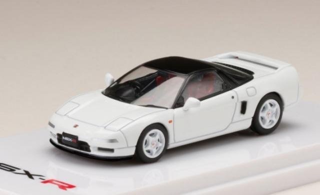 HobbyJapan 1/64 ホンダ NSX NA1 Type R 1992 チャンピオンシップホワイト