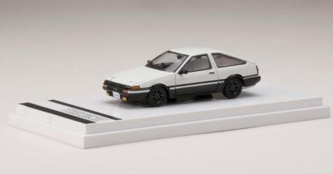 Hobby JAPAN 1/64 Toyota SPRINTER TRUENO GT APEX (AE86) Customized Ver. (白/黒)