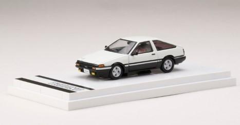 Hobby JAPAN 1/64 Toyota SPRINTER TRUENO GT APEX (AE86) (白/黒)
