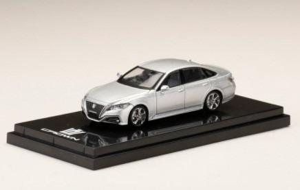 HobbyJapan 1/64 Toyota CROWN 2.0 RS Advance Silver Metallic