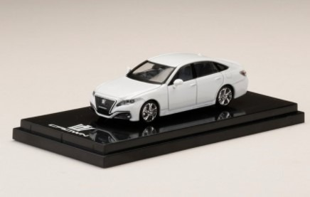 HobbyJapan 1/64 Toyota CROWN 2.0 RS Advance White Pearl Crystal C.S.