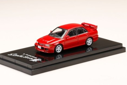 HobbyJAPAN 1/64 Mitsubishi Lancer GSR Evolution III (CE9A) Monaco Red