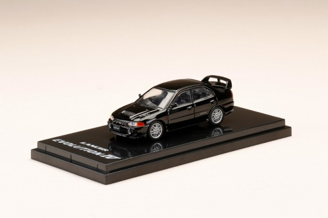 Hobby JAPAN 1/64 Mitsubishi Lancer GSR Evolution IV (CN9A) Pyreness Black